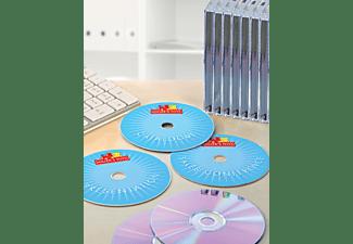 AVERY ZWECKFORM C9660-25 CD-Etiketten Ø 117 mm Ø 117 mm A4  50 Etiketten / 25 Bogen