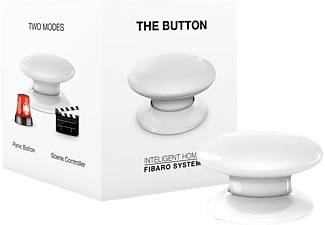 FIBARO FIBEFGPB-101-1 The Button, Taster, kompatibel mit: Z-Wave