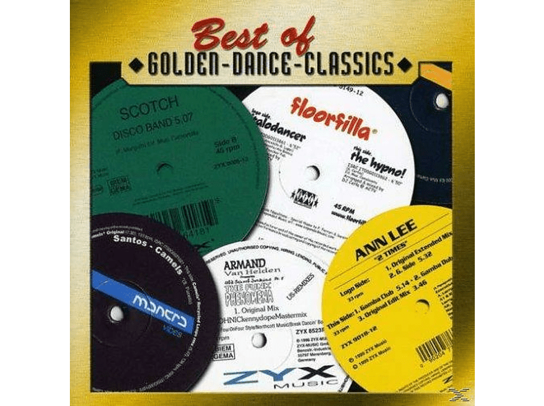 VARIOUS - Best Of Golden Dance Classics [CD]