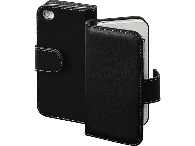HAMA Diary Case , Bookcover, Apple, iPhone 4, iPhone 4s, Polyurethan, Schwarz