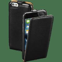 HAMA Smart , Flip Cover, Apple, iPhone 6, iPhone 6s, Leder (Obermaterial), Schwarz