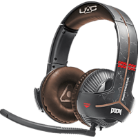 THRUSTMASTER Y-350X Doom Edition (Xbox One / PC) 7.1  Gaming-Headset Schwarz/Rot