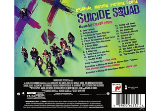 VARIOUS, Steven Price - Suicide Squad/OST Score  - (CD)