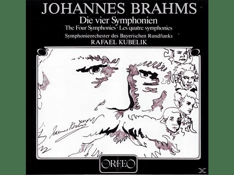 Sobr, Rafael Kubelik - Die vier Sinfonien c-Moll/D-Dur/F-Dur/e-Moll [CD]