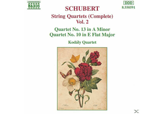 Kodaly Quartet - Streichquartette Vol.2  - (CD)