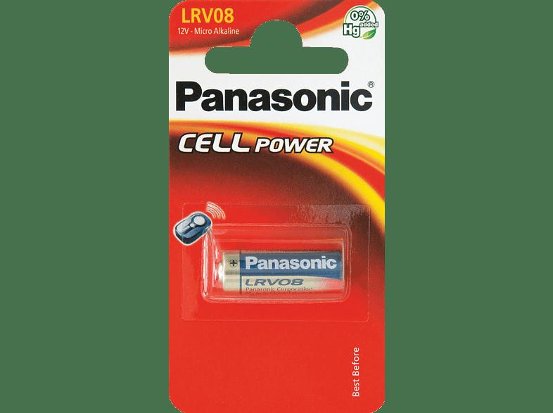 PANASONIC LRV08 Batterie, Gold, Schwarz