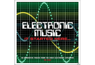 VARIOUS - Electronic Music-It Started Here - (CD)