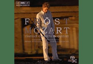 Martin & Various Froest - Klarinettenkonzert KV 622/+Quintett A-Dur KV 581  - (SACD Hybrid)