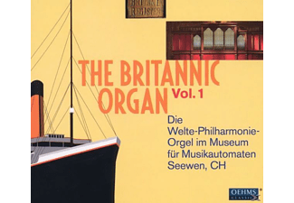 David Rumsey - The Britannic Organ Vol.1 - (CD)