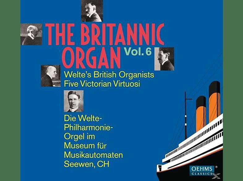 Diverse, VARIOUS - The Britannic Organ Vol.6 [CD]