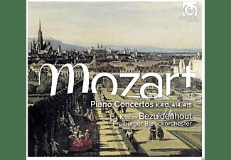 Kristian Bezuidenhout, Freiburger Barockorchester - Klavierkonzerte KV 413-415  - (CD)