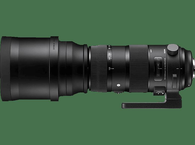 SIGMA ZA 955 Sports + TC 1401  für Nikon F-Mount, 150 mm - 600 mm, f/5-6.3
