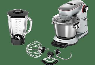 BOSCH MUM9YX5S12 OptiMUM Küchenmaschine Silber (Rührschüsselkapazität: 5,5 Liter, 1500 Watt)