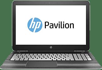 HP Pavilion 15-bc031ng, Notebook mit 15,6 Zoll Display, Intel® Core™ Prozessor, 12 GB RAM, 1 TB HDD, 128 GB SSD, GeForce GTX 960M, Silber