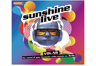 VARIOUS - Sunshine Live Vol.58  - (CD)