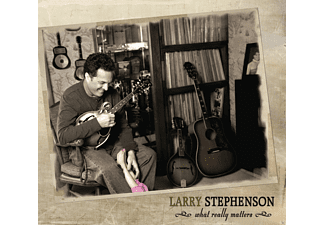 Larry Stephenson - WHAT REALLY MATTERS  - (CD)