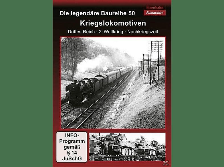 Die legendäre Baureihe 50: Kriegslokomotiven [DVD]
