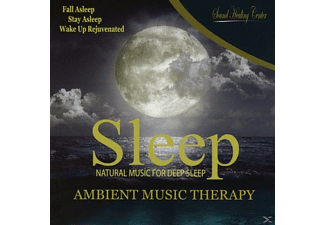 Binaural Beat Brainwave Subliminal Systems - Sleep: Ambient Music Therapy  - (CD)