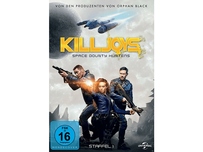 Killjoys - Staffel 1 [DVD]