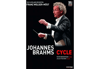 Yefim Bronfman, The Cleveland Orchestra, Fischer Julia - Johannes Brahms: Cycle  - (DVD)