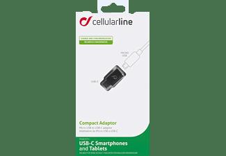 CELLULAR LINE 37715 Kompakt Adapter Schwarz