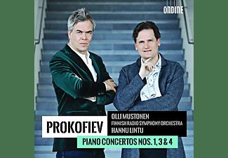 Olli Mustonen, Hannu Lintu, Finnish Radio Symphony Orchestra - Klavierkonzerte 1,3+4  - (CD)
