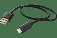 HAMA Lightning, Lade-Sync-Kabel, 1.5 m, Schwarz