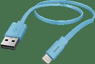 HAMA Lightning, Lade-Sync-Kabel, 1.2 m, Blau