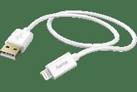 HAMA Lightning, Lade-Sync-Kabel, 1.5 m, Weiß