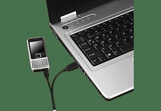 HAMA Micro-USB, Lade-Sync-Kabel, 0,6 m, Schwarz