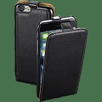 HAMA Guard , Flip Cover, Apple, iPhone 7, Leder (Obermaterial), Schwarz