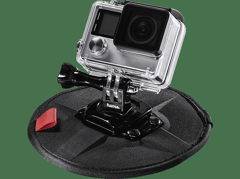 HAMA Flex, Magnethalterung, Schwarz, passend für GoPro