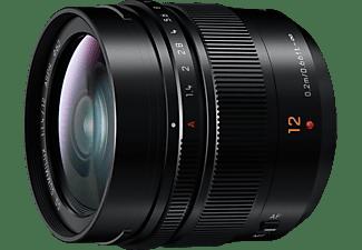 PANASONIC Objektiv Leica DG Summilux 12mm f1.4 ASPH Schwarz (H-X012)