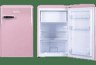 AMICA KS 15616 P Kühlschrank (133 kWh/Jahr, A++, 860 mm hoch, Pink)
