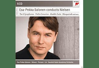 Esa-Pekka Salonen - Esa-Pekka Salonen Conducts Nielsen  - (CD)