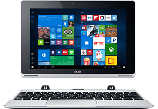 ACER Aspire Switch 10 SW5-015, Convertible, 64 GB, 10,1 Zoll, Silber/Weiß