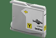 BROTHER Original Tintenpatrone Gelb (LC-970Y)