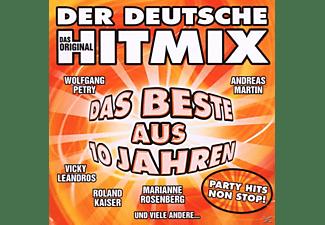 VARIOUS - Der Deutsche Hitmix-Das Beste Aus 10 Jahren  - (CD)