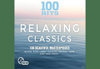 VARIOUS - 100 Hits-Relaxing Classic  - (CD)