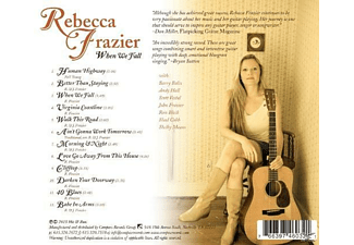 Rebecca Frazier - WHEN WE FALL  - (CD)