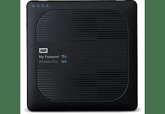 WD My Passport™ Wireless Pro, 1 TB HDD, 2,5 Zoll, extern, Dunkelgrau