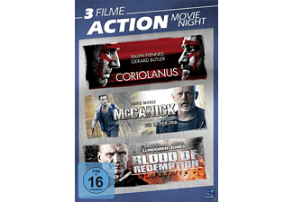Action Movie Night DVD