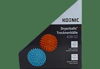 KOENIC Trocknerbälle KDB-02 2er Pack Blau/Orange