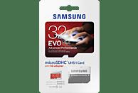 SAMSUNG MB-MC32DA-EU-21, Micro-SDHC micro SDHC Speicherkarte, 32 GB, 80 MB/s