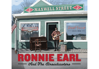 Ronnie Earl, The Broadcasters - Maxwell Street  - (CD)