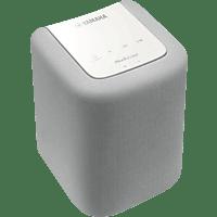 YAMAHA WX 010 - Streaming Lautsprecher (Bluetooth, Weiß)