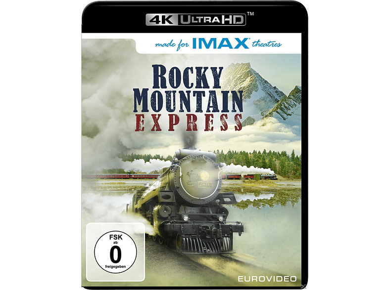 Rocky Mountain Express [4K Ultra HD Blu-ray]