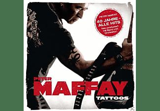 Peter Maffay - Tattoos (40 Jahre Maffay-Alle Hits-Neu Produziert)  - (CD)