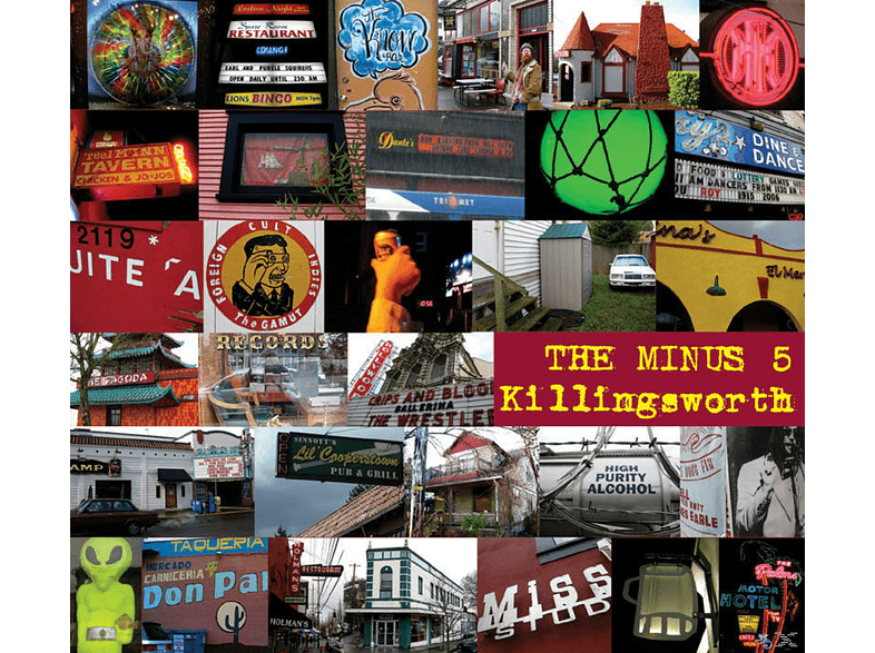 The Minus 5 - Killingsworth [CD]