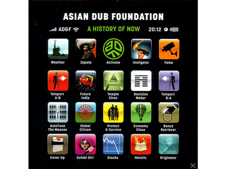 Asian Dub Foundation - A History Of Now [CD]
